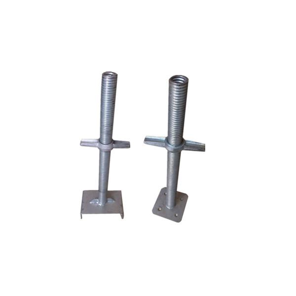 Adjustable U Head : Jack base screw u head